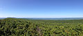 2014-08-25 11 24 49 Panorama west from Catfish Fire Tower along the Appalachian Trail in Delaware Water Gap National Recreation Area, New Jersey.JPG
