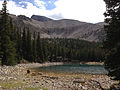 2014-09-15 14 48 28 View of Teresa Lake along the Alpine Lakes Trail in Great Basin National Park, Nevada.JPG