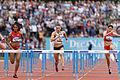 2014 DécaNation - 100 m hurdles 03.jpg