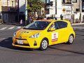 2014 Hakone Ekiden Announce car Aqua.jpg