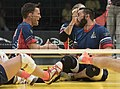 2016 Invictus Games, US Team advances to gold medal Sitting volleyball 160511-D-BB251-013.jpg