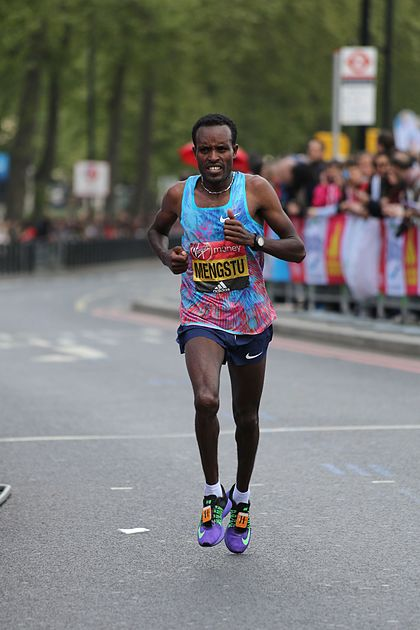 2017 London Marathon - Asefa Mengstu.jpg