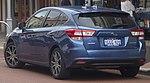 2017 Subaru Impreza (GT7) 2.0i-L hatchback (2018-09-17) 03.jpg