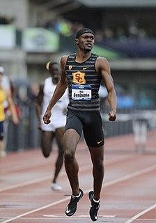 Rai Benjamin American sprinter and hurdler