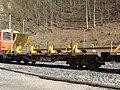 2019-03-03 (206) NÖVOG 93102 rail service vehicle at Bahnhof Schwarzenbach an der Pielach, Frankenfels, Austria.jpg
