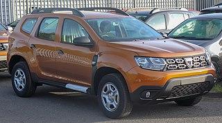 Dacia Duster sport utility vehicle