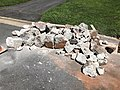 2021-07-13 11 48 21 A section of curb after removal along Tranquility Court in the Franklin Farm section of Oak Hill, Fairfax County, Virginia.jpg