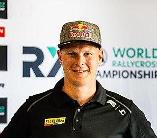 Johan Kristoffersson Swedish racing driver