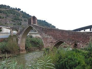 247 Pont del Diable, sobre el Llobregat (Martorell), cara nord.jpg