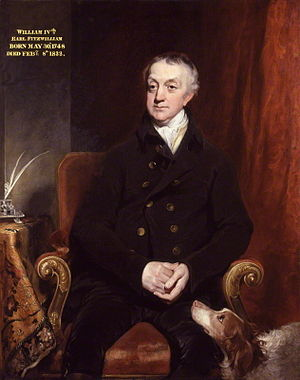 William Fitzwilliam, 4th Earl Fitzwilliam - Fitzwilliam as painted by William Owen, 1817