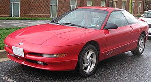 1993-1997 Ford Probe photographed in College P...