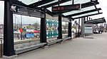 38th & Blake EB platform shelter, 16-04-23.jpg