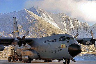 3rd Wing - The 537th Airlift Squadron supports remote radar sites in Alaska with C-130 Hercules airlifters.