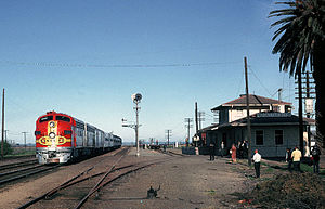 Port Chicago, California - Train station in 1969