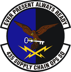 435 Supply Chain Operations Sq emblem.png