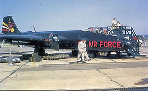 461st Air Control Wing - 461st Bombardment Wing Martin B-57B-MA 53-3934, 1956