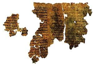 Jewish mysticism - Enoch Dead Sea Scroll c. 200–150 BCE