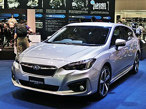 5th gen Subaru Impreza Sport in Automobile Council 2016.jpg