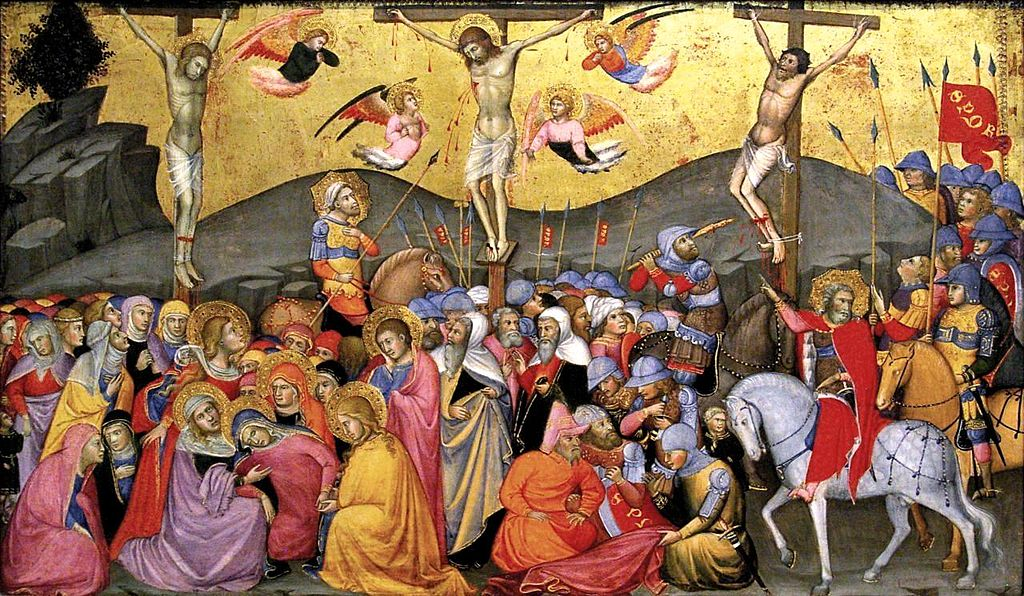6 Andrea di Bartolo. Crucifixion. c. 1400, Metropolitan museum, N-Y