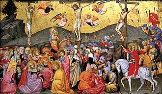 Andrea di Bartolo - Crucifixion.