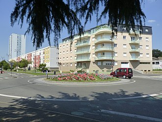 Coulaines - The Boulevard Saint Michel, in Coulaines