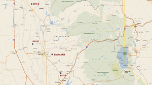 851st Strategic Missile Squadron - HGM-25A Titan I Missile Sites