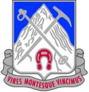 2nd Battalion, 87th Infantry Regiment - 87th Infantry Regiment distinctive unit insignia