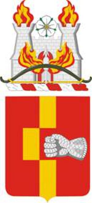 92nd Field Artillery Regiment - Coat of arms