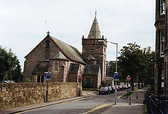 St James Church, St Andrews - St James Church in St Andrews, 1997