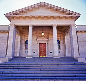 Johannesburg Art Gallery - Entrance of Johannesburg Art Gallery