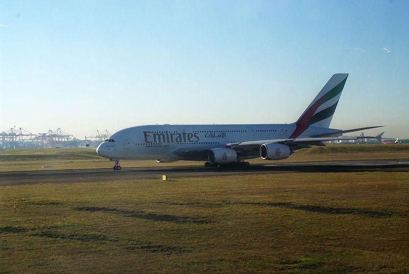 File:A380 Emirates Sydney.jpg
