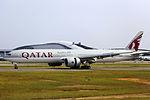 A7-BAP - Qatar Airways - Boeing 777-3DZ(ER) - CAN (14064644884).jpg