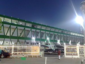 Sabah Al Salem Stadium -  Sabah al-Salem Stadium Stadium from the outside Al Arabi home ground