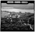 AERIAL VIEW OF ACADEMIC CORE, LOOKING EAST - U. S. Military Academy, West Point, Orange County, NY HABS NY,36-WEPO,1-13.tif