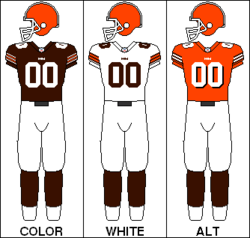 Dresy Cleveland Browns