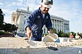 AOC Stonemason Repairs Olmsted Terrace (15404517305).jpg