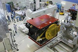 ARSAT-1 while in the INVAP's clean room