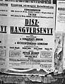 A Budapesti Kórus és a Székesfővárosi Zenekar hangversenyét hirdető plakát. Fortepan 72169.jpg