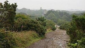 Blackwater, Cornwall - Image: A Cornish Mining Walk geograph.org.uk 588567