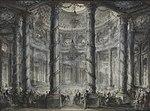 A Fête in the Colisée, drawing by Gabriel de Saint-Aubin – The Wallace Collection.jpg