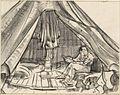 A Gunner in a Bell Tent Art.IWMARTLD1949.jpg