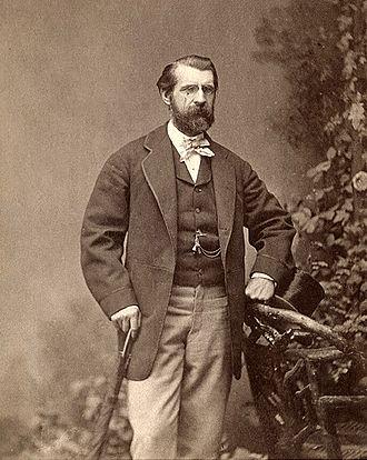 A. Oakey Hall - Abraham Oakey Hall, circa 1870