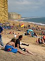 A Sunday afternoon - West Bay - geograph.org.uk - 1456140.jpg