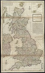 A new map of Great Britain according to the newest and most exact observations (8342715024).jpg