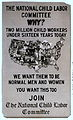 A poster highlighting 2 million child workers in early 20th century United States.jpg