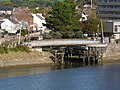 A swing bridge on the Tarka Trail at the mouth of the river Yeo - geograph.org.uk - 1532535.jpg