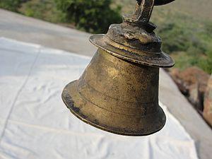 Ghanta - A hanging ghanta in a temple in Tamil Nadu.
