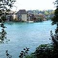 Aare River , Bern , Switzerland - panoramio.jpg