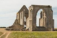Abbaye Notre-Dame de Ré Île de Ré angle Charente-Maritime.jpg
