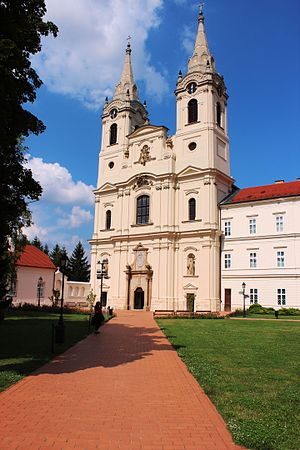 Zirc - Image: Abbey Church of Zirc